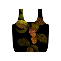 Autumn Leaves Foliage Full Print Recycle Bags (s)  by Celenk