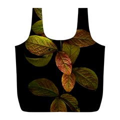 Autumn Leaves Foliage Full Print Recycle Bags (l)  by Celenk