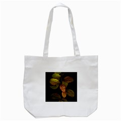 Autumn Leaves Foliage Tote Bag (white) by Celenk