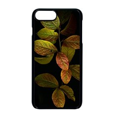 Autumn Leaves Foliage Apple Iphone 8 Plus Seamless Case (black) by Celenk