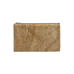 Rock Tile Marble Structure Cosmetic Bag (small)  by Celenk