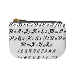 Font Lettering Alphabet Writing Mini Coin Purses by Celenk