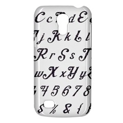 Font Lettering Alphabet Writing Galaxy S4 Mini by Celenk