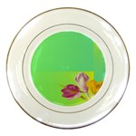 Background Homepage Blossom Bloom Porcelain Plates Front