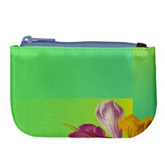 Background Homepage Blossom Bloom Large Coin Purse by Celenk