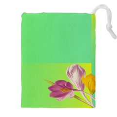 Background Homepage Blossom Bloom Drawstring Pouches (xxl) by Celenk