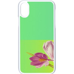 Background Homepage Blossom Bloom Apple Iphone X Seamless Case (white) by Celenk