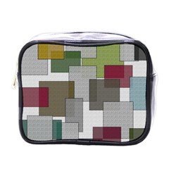 Decor Painting Design Texture Mini Toiletries Bags by Celenk