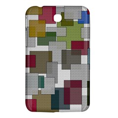 Decor Painting Design Texture Samsung Galaxy Tab 3 (7 ) P3200 Hardshell Case  by Celenk