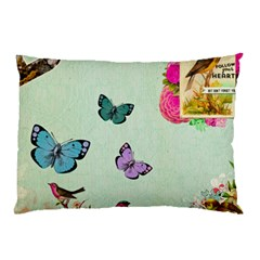 Collage Pillow Case by 8fugoso