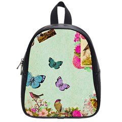 Collage School Bag (small) by 8fugoso
