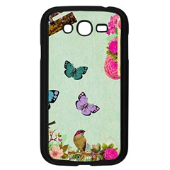 Collage Samsung Galaxy Grand Duos I9082 Case (black) by 8fugoso