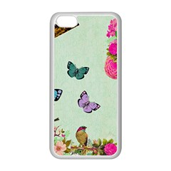 Collage Apple Iphone 5c Seamless Case (white) by 8fugoso