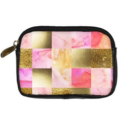 Collage Gold And Pink Digital Camera Cases by 8fugoso