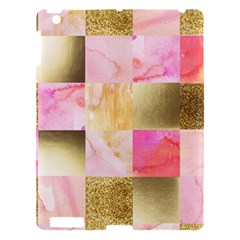 Collage Gold And Pink Apple Ipad 3/4 Hardshell Case by 8fugoso