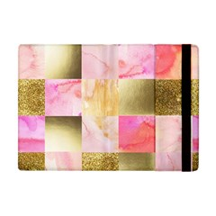 Collage Gold And Pink Apple Ipad Mini Flip Case