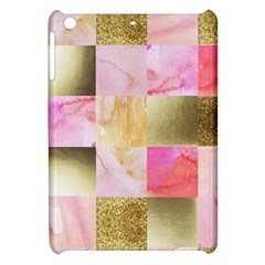 Collage Gold And Pink Apple Ipad Mini Hardshell Case by 8fugoso