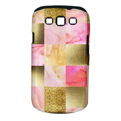 Collage Gold And Pink Samsung Galaxy S Iii Classic Hardshell Case (pc+silicone) by 8fugoso