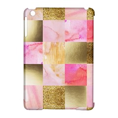 Collage Gold And Pink Apple Ipad Mini Hardshell Case (compatible With Smart Cover) by 8fugoso