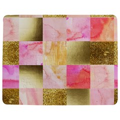 Collage Gold And Pink Jigsaw Puzzle Photo Stand (rectangular) by 8fugoso