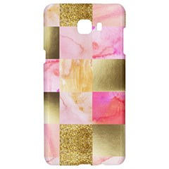Collage Gold And Pink Samsung C9 Pro Hardshell Case  by 8fugoso