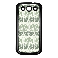 Teal Beige Samsung Galaxy S3 Back Case (black) by 8fugoso