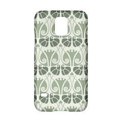 Teal Beige Samsung Galaxy S5 Hardshell Case  by 8fugoso