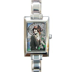 Gatsby Sommer Rectangle Italian Charm Watch by 8fugoso