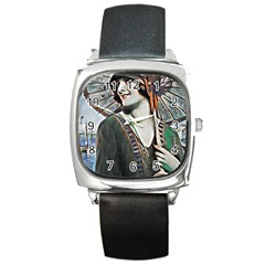 Gatsby Sommer Square Metal Watch by 8fugoso