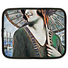 Gatsby Sommer Netbook Case (large) by 8fugoso