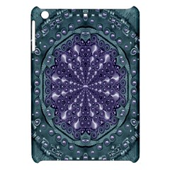 Star And Flower Mandala In Wonderful Colors Apple Ipad Mini Hardshell Case by pepitasart