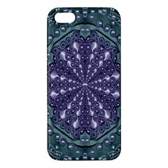 Star And Flower Mandala In Wonderful Colors Apple Iphone 5 Premium Hardshell Case by pepitasart