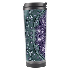 Star And Flower Mandala In Wonderful Colors Travel Tumbler by pepitasart