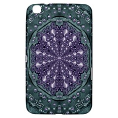 Star And Flower Mandala In Wonderful Colors Samsung Galaxy Tab 3 (8 ) T3100 Hardshell Case  by pepitasart