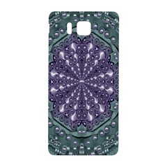Star And Flower Mandala In Wonderful Colors Samsung Galaxy Alpha Hardshell Back Case by pepitasart