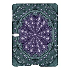 Star And Flower Mandala In Wonderful Colors Samsung Galaxy Tab S (10 5 ) Hardshell Case  by pepitasart