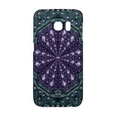 Star And Flower Mandala In Wonderful Colors Galaxy S6 Edge by pepitasart