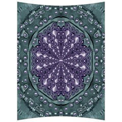 Star And Flower Mandala In Wonderful Colors Back Support Cushion by pepitasart