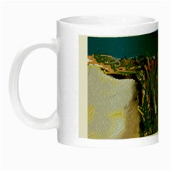 A Day At Safety Beach By Julie Grimshaw 2017 Glow In The Dark Mug by JULIEGRIMSHAWARTS