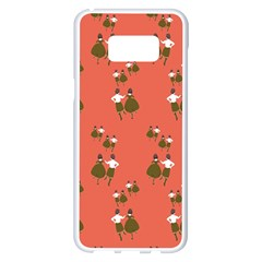 Dance Samsung Galaxy S8 Plus White Seamless Case by Celenk