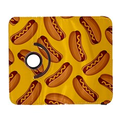 Hot Dog Seamless Pattern Galaxy S3 (flip/folio) by Celenk
