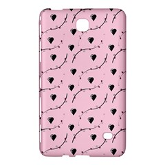 Love Hearth Pink Pattern Samsung Galaxy Tab 4 (7 ) Hardshell Case  by Celenk