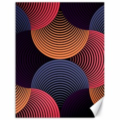 Geometric Swirls Canvas 18  X 24   by Celenk