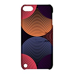 Geometric Swirls Apple Ipod Touch 5 Hardshell Case With Stand by Celenk