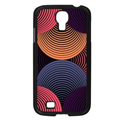 Geometric Swirls Samsung Galaxy S4 I9500/ I9505 Case (black) by Celenk