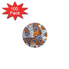 Paisley Pattern 1  Mini Magnets (100 Pack)  by Celenk