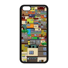 Building Apple Iphone 5c Seamless Case (black) by Celenk