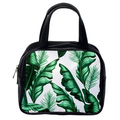 Banana Leaves And Fruit Isolated With Four Pattern Classic Handbags (one Side) by Celenk