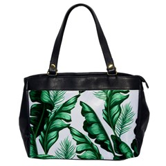 Banana Leaves And Fruit Isolated With Four Pattern Office Handbags