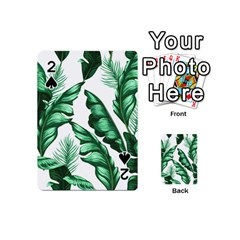Banana Leaves And Fruit Isolated With Four Pattern Playing Cards 54 (mini)